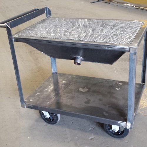 Custom Downdraft Table by Mark Metals