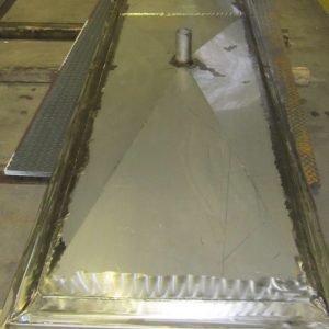 CUSTOM MUNICIPAL KITCHEN DRAIN PAN - Mark Metals