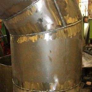 Custom Kitchen Ventilation Ductwork by Mark Metals