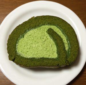 宇治抹茶のロールケーキ