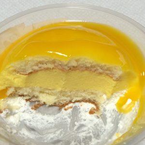 ドームケーキ断面