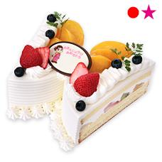 ちょうちょショートケーキ(フルーツ)