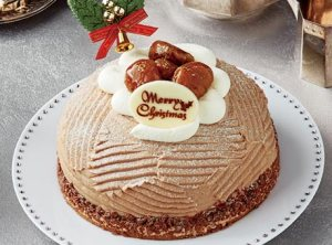 イタリア栗のクリスマスモンブラン(5号相当)