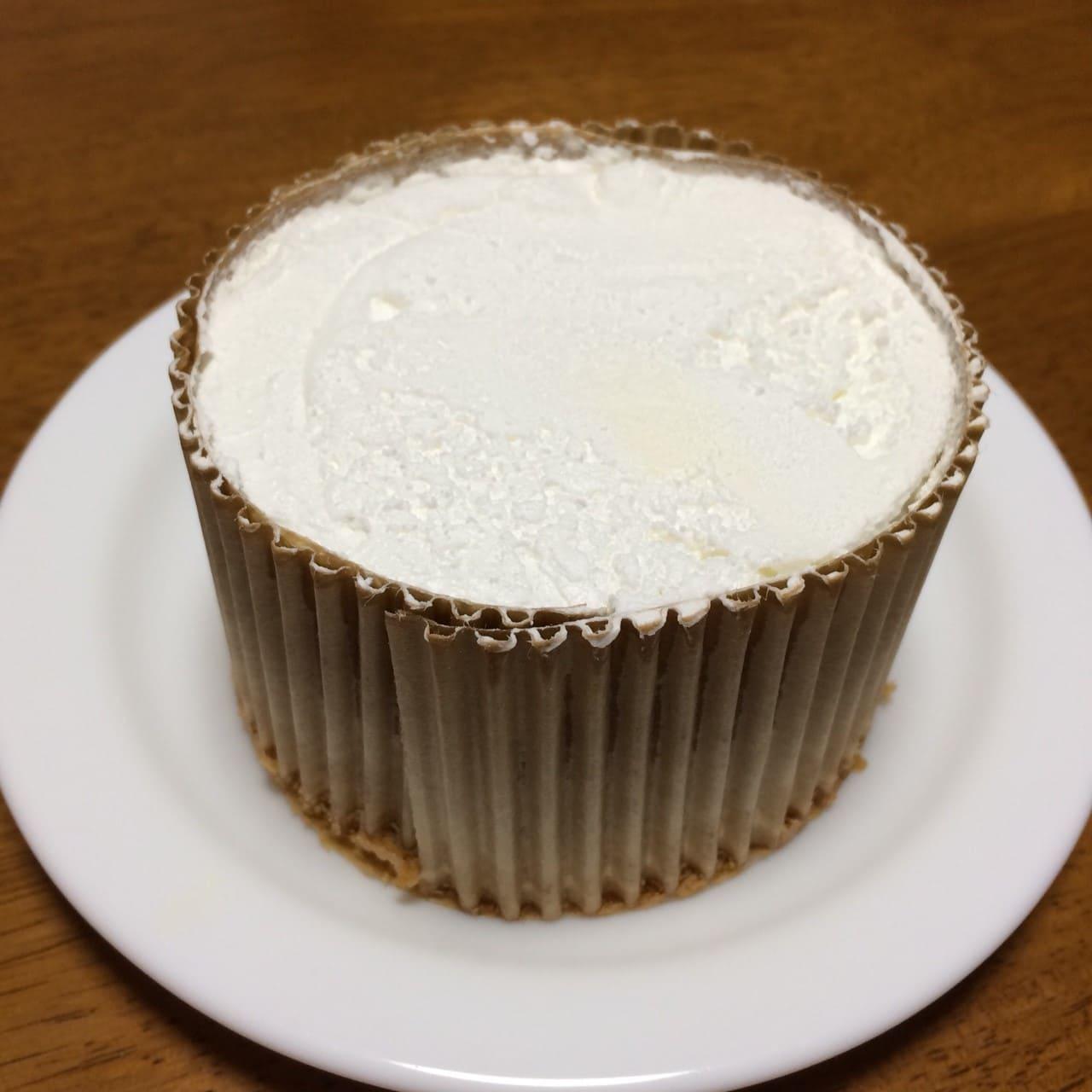ホイップたっぷり米粉入りシフォン佐渡牛乳使用