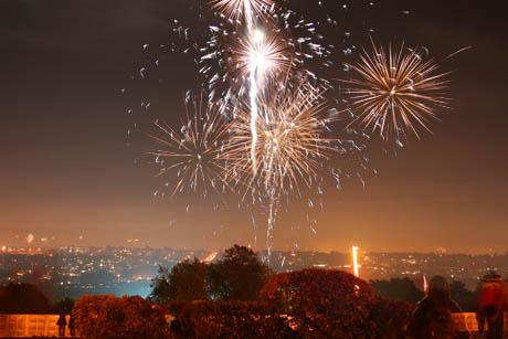 Alexander Palace Fireworks Display 2006