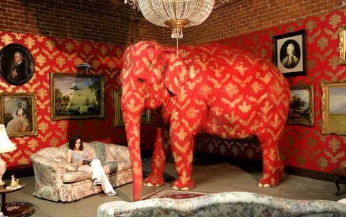 Banksy Elephant