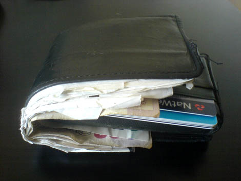 Messy Wallet