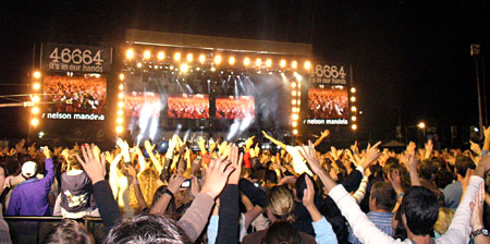 Nelson Mandela's 90th Birthday Party - 46664 Concert at Hyde Park