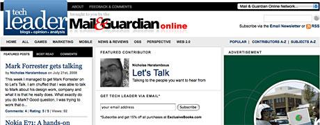 Mark Forrester gets talking on Techleader