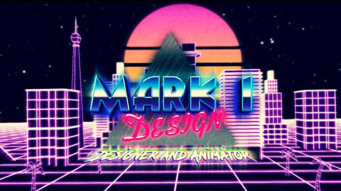 3D Design and Animation Retro