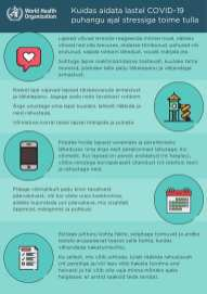 Maailma Terviseorganisatsiooni soovitused
