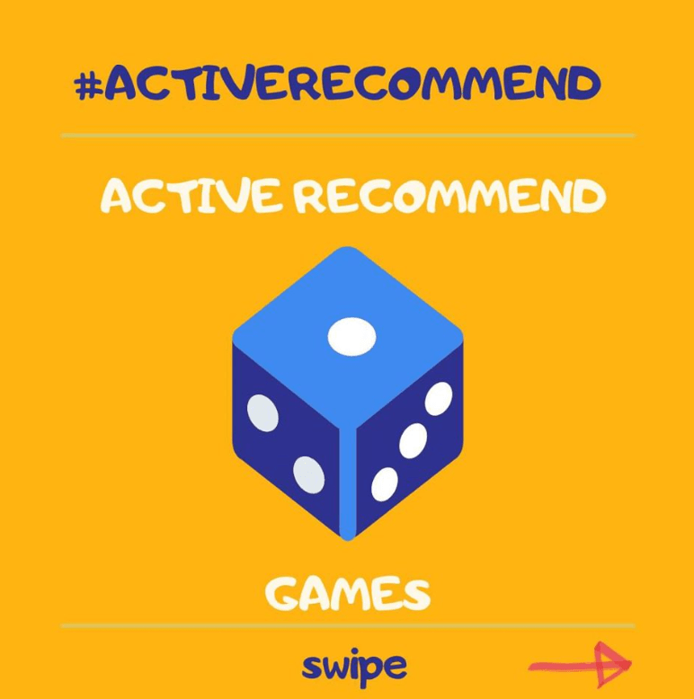 #ACTIVERECOMMEND