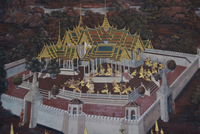 Royal Grand Palace - Bangkok - Thailand - murals