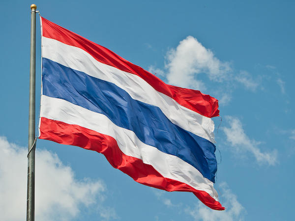 Flag of Thailand - Thailand- Learning Thai customs - Thai vacation - Travel blogger - Travel blog