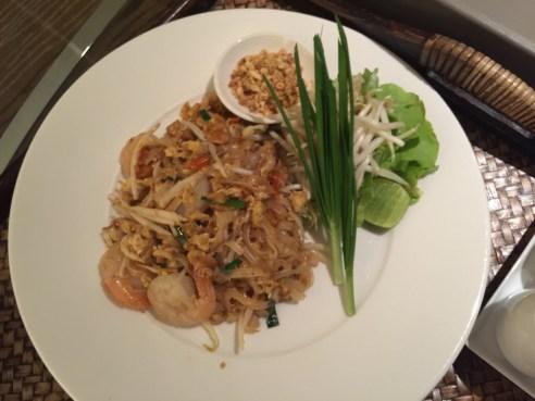 Pad Thai - Rooms Service - Aetas Lumpini Hotel Bangkok - Gate 1 Travel - Travel Blogger - Thailand vacation