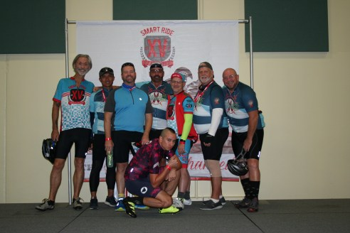 Smart Ride 15 - Florida AIDS fundraising bike ride - Team Metro - Miami to Key West Bike Ride