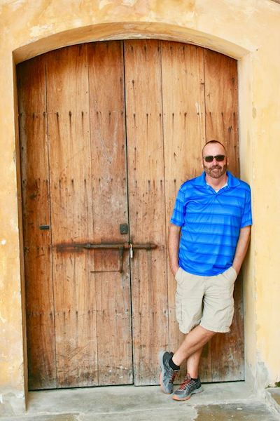 Chuck at San Cristobal - Old San Juan - San Cristobal - Puerto Rico
