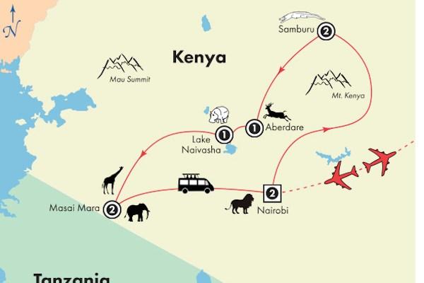 Gate 1 Travel - Discovery Small Groups - 10 Day Kenya Safari Exploration