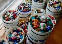 Kazuri Beads - Nairobi Kenya - Gate 1 Travel - Discovery Small Group - Kenyan jewelry - helping single mothers- ceramic jewelry - hand painted beads -