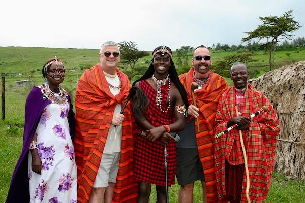 Maasai Family - Nairobi Kenya - Kenya Vacation