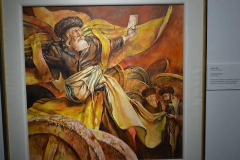 Samuel Bak - Florida Holocaust Museum - St Petersburg Florida - Travel Blogger