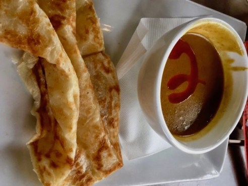 Hawkers Asian Street Food - St Petersburg restaurants - Street Food - St Pete food scene - Food Blogger - Travel Blogger- Roti Canai -