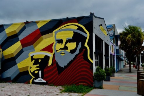 Chad Mize - St Pete murals - St Petersburg Florida