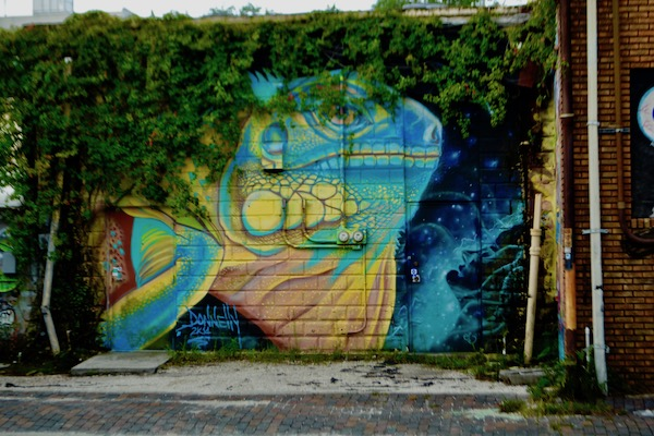 Saint paint Arts - Derek Donnelly - St Pete Murals - St Petersburg Florida