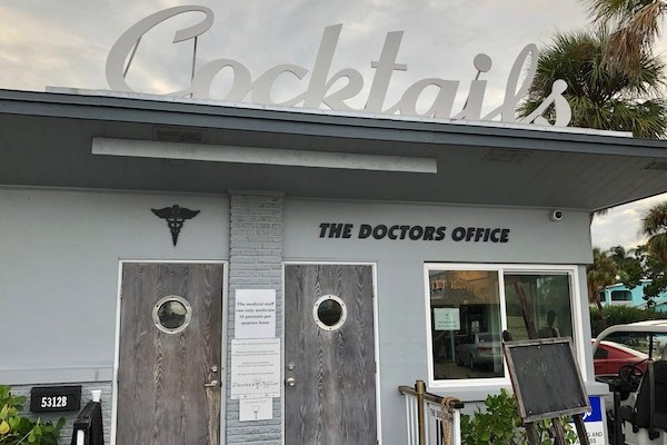 The Doctors Office - Holmes Beach- Anna Maria Island - Craft Cocktails