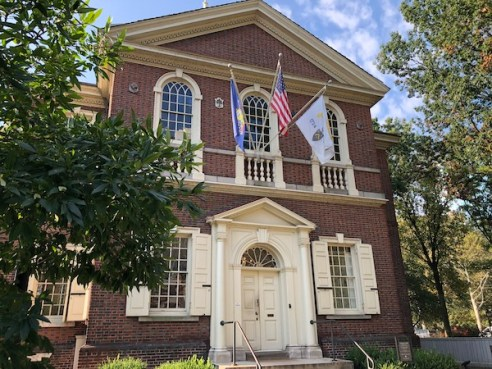 Mark and Chuck's Adventures – Travel bloggers – Food bloggers- Philadelphia - Old City Philadelphia - Independence National Park - Carpenters Hall