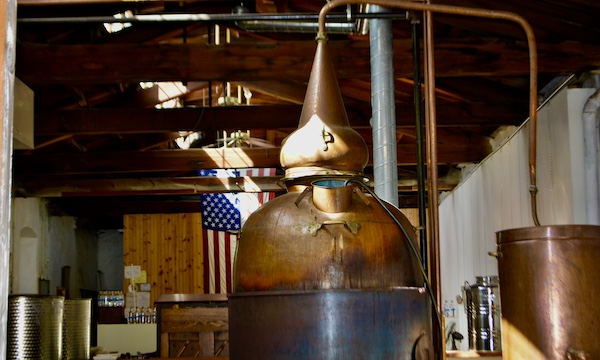 Gin - craft spirits - distilling - craft distillery - copper pot still - Liberty Gin - Manayunk distillery - Philadelphia