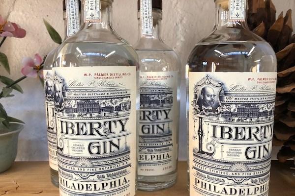 Liberty Gin - W.P. Palmer Distilling Co - craft cocktails - boutique distillery - Philadelphia - Manayunk -