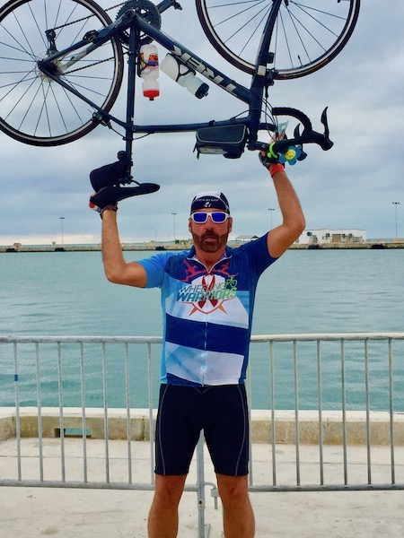 Wheeling Warriors - Smart Ride - Florida Smart Ride- Chuck Hinchliffe - Mark and Chucks Adventures - Key West Florida - bicycle