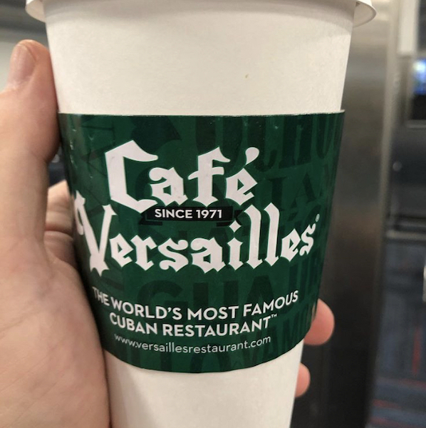 Cuban Coffee - Miami - Cuban Restaurants - Cafe Versailles - cafe con Leche - The Worlds Most Famous Cuban Restaurant