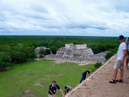 Mark and Chuck's Adventures- Chichen Itza - Temple of Kukulcan - El Castillo - Seven Modern Wonders of the World