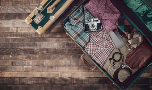 traveler's suitcase - cross packing your suitcase - what happens when the airlines lose your suitcase