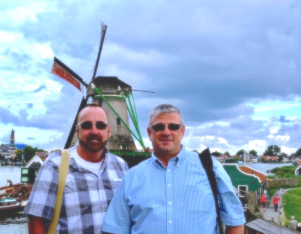 Mark and Chuck's Adventures - The Netherlands - windmills - exploring Amsterdam - trip to Zaanse Schans - exploring the Dutch countryside - solo travelers - over 55 travelers- LGBTQ travelers