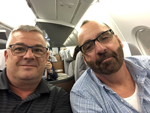 Mark and Chucks Adventures - Lufthansa - Lufthansa Business Class - India Vacation