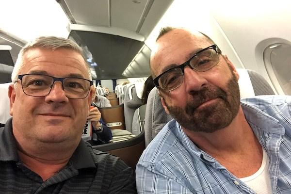 Mark and Chucks Adventures - Lufthansa - Lufthansa Business Class - India Vacation
