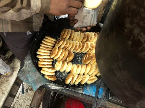 Indian shortbread - Delhi Food Walks- Old Delhi - Indian Street Food - street food tours - Mark and Chuck's Adventures