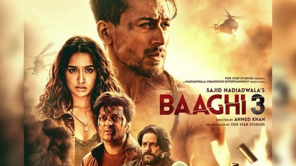Movie Poster from Baaghi 3 - Raj Mandir - Bollywood - Tiger Shroff