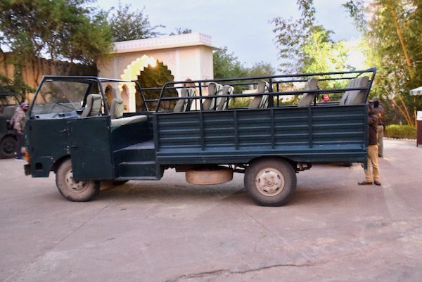 Ranthambore - The Tigress Ranthambore - safari vehicle - early morning safari - tiger - tigers in India