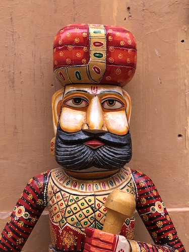 India Travel Blog – Jaipur Handicrafts – Jaipur India - India - local Rajasthani wood carving