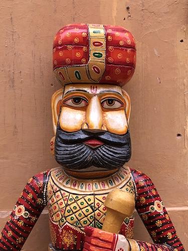 India Travel Blog – Jaipur Handicrafts – Jaipur India - India - local Rajasthani wood carving