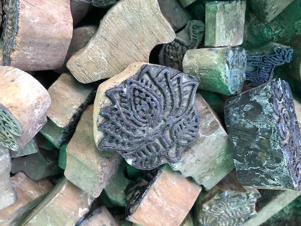 India Travel Blog – Jaipur Handicrafts – Jaipur India - India - block printing - blocks for printing fabric - Indian block printing