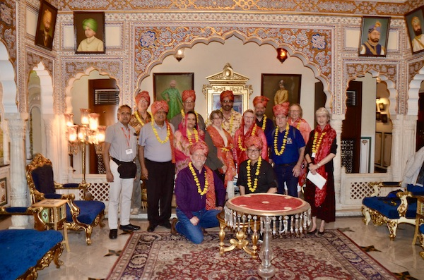 Shahpura House - Gate 1 Travel - Gate 1 Travel India - Gate 1 Travel group at dinner