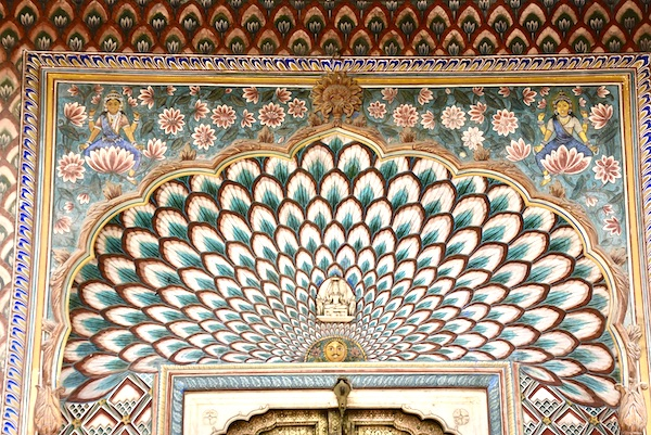 peacock - peacock doorway - Jaipur city palace