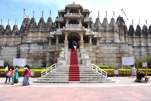 Ranakpur Jaine Temple in Rajasthan India