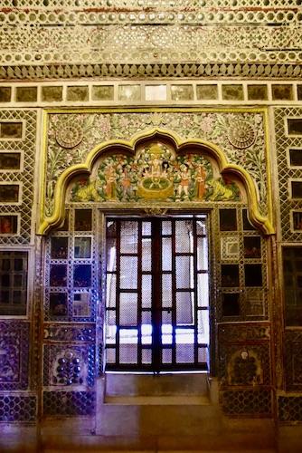 Sheesh Mahal - Hall of Mirrors - Mehrangarh Fort - Jodhpur - India