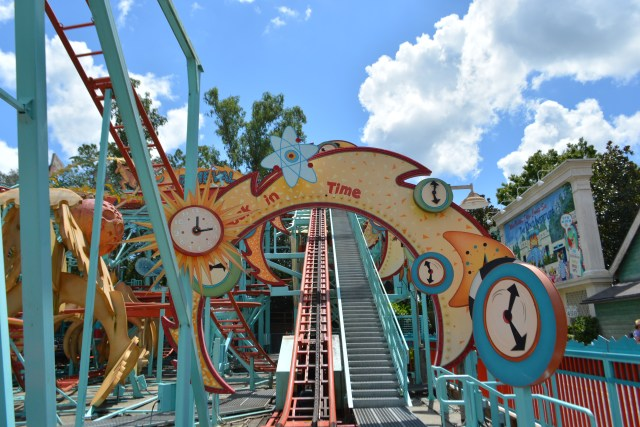 a closed Primeval Whirl in DinoLand USA at Disney's Animal Kingdom